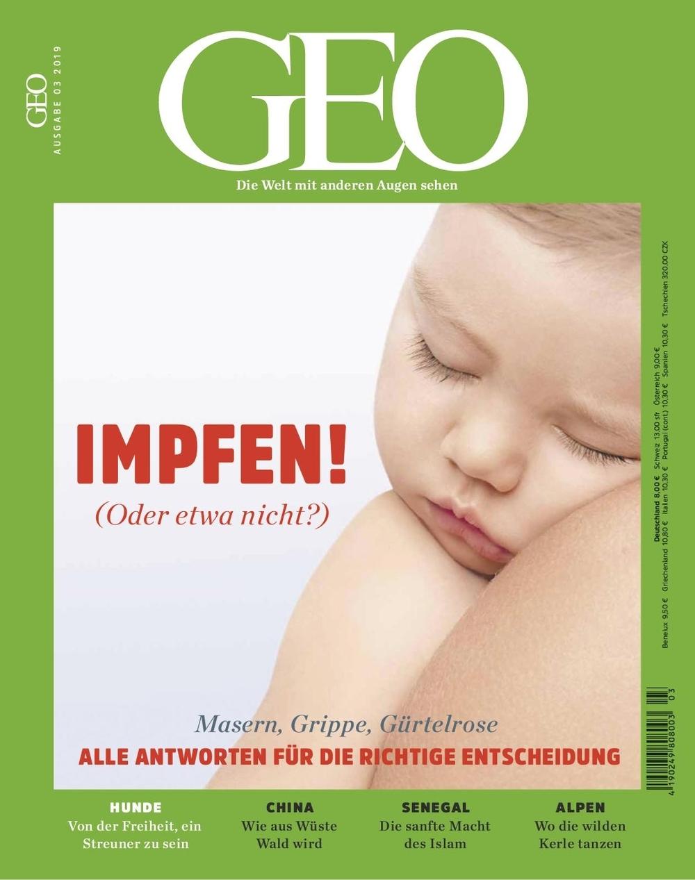 Bildergebnis für geo titel impfen