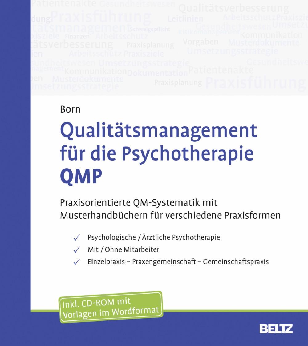 Qualitätsmanagement für die Psychotherapie QMP - Praxisorientierte ...