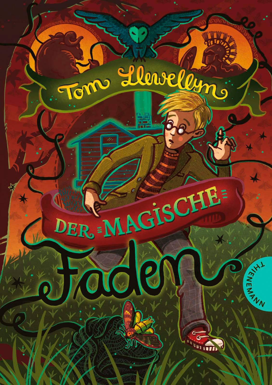 """""""Der magische Faden"""" von Tom Llewellyn, Kinderbuch"""